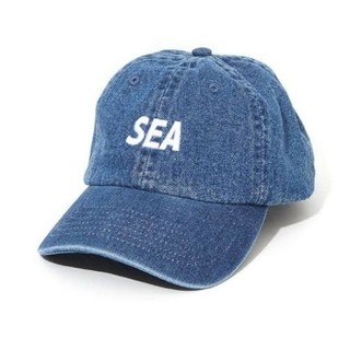 Supreme - WIND AND SEA ウィンダンシー DENIM CAP INDIGO
