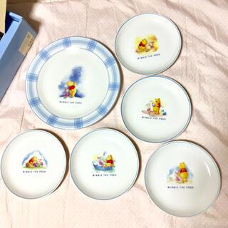 Disney - くまのプーさん 可愛い 皿 パーティセット 6点セット