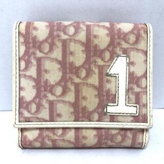クリスチャンディオール(Christian Dior)のクリスチャンディオール Wホック財布(財布)