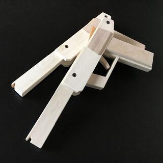 【手作り】木製10連発 輪ゴム銃 お買い得 2個セット(モデルガン)