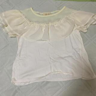 ダブルクローゼット(w closet)の!夏物処分セール!ダブルクローゼット  フリル トップス(Tシャツ(半袖/袖なし))