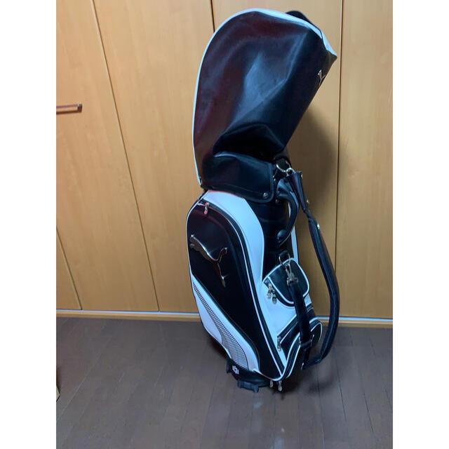 PUMA(プーマ)のプーマ ゴルフバッグ スポーツ/アウトドアのゴルフ(バッグ)の商品写真