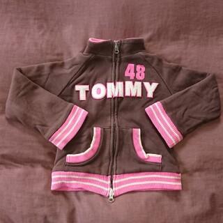 トミーヒルフィガー(TOMMY HILFIGER)のTOMMY HILFIGER トミーヒルフィガー リバーシブル スウェット 女子(ジャケット/上着)