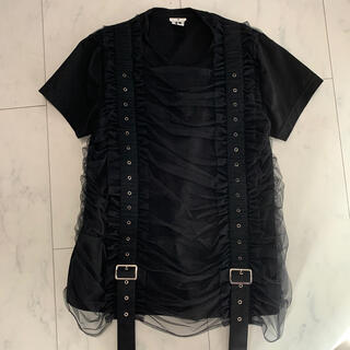 コムデギャルソン(COMME des GARCONS)のAD2020 ノワールケイニノミヤ Tシャツ(Tシャツ(半袖/袖なし))