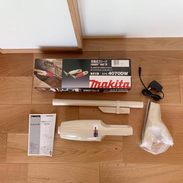 Makita(マキタ)の新品 マキタ makita ハンディクリーナー 掃除機 充電式 スマホ/家電/カメラの生活家電(掃除機)の商品写真