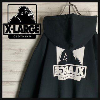 XLARGE - 【こっち向けよG】エクストララージ☆ビッグロゴパーカー 入手困難 即完売品 美品