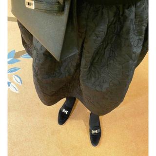 ドゥロワー(Drawer)の20AW CECILIE BAHNCEN キルティングスカート ドゥロワー  (ひざ丈スカート)