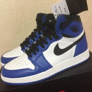 AIR JORDAN 1 RETRO HIGH OG BG GAME ROYAL(スニーカー)