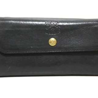 イルビゾンテ(IL BISONTE)のイルビゾンテ 長財布 - 黒 レザー(財布)