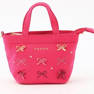 TOCCA - TOCCA トッカ リボン トートバッグ(XSサイズ) 新品