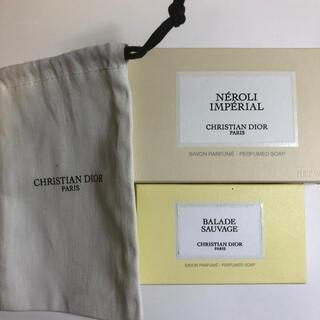 クリスチャンディオール(Christian Dior)のメゾンクリスチャンディオール 石鹸 巾着(ボディソープ/石鹸)