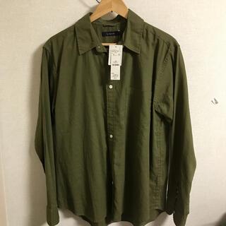 レイジブルー(RAGEBLUE)の新品未使用 タグ付き コットンリネンブレンドシャツ(シャツ)