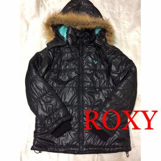 ロキシー(Roxy)の1回着☆ROXY中綿コートMダウンジャケットブルゾンロキシーリップカールビラボン(ダウンジャケット)