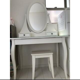 イケア(IKEA)の直接引き取り出来る方のみ IKEAのHEMNES ヘムネス(ドレッサー/鏡台)