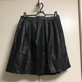 マカフィー(MACPHEE)のMACPHEE / マカフィー フェイクレザー スカート(ひざ丈スカート)