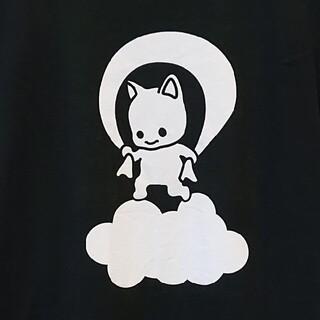 CUNE - キューン 天神 ねこ Tシャツ ブラック Sサイズ CUNE
