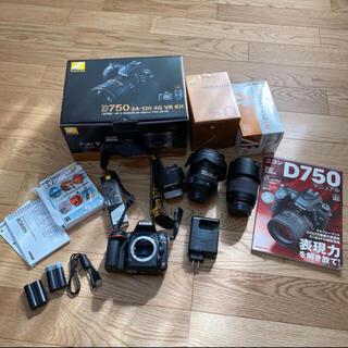 Nikon - Nikon D750 24-120 VR レンズキット、単焦点、望遠