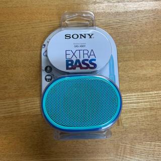 ソニー(SONY)のSONY  ワイヤレスポータブルスピーカー SRS-XB01 防水(ポータブルプレーヤー)