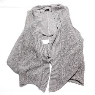 ルシェルブルー(LE CIEL BLEU)の[LE CIEL BLEU] グレーのニットベスト フリーサイズ(ニット/セーター)