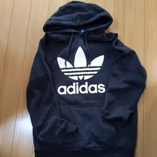 adidas - **レディース アディダスパーカー 黒 M**
