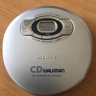 ソニー(SONY)のSONY CDウォークマン D-E660☆中古品(ポータブルプレーヤー)