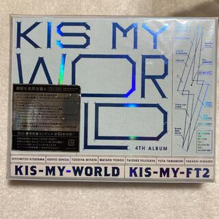 キスマイフットツー(Kis-My-Ft2)のKIS-MY-WORLD(初回生産限定A)(ポップス/ロック(邦楽))