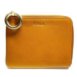 フルラ(Furla)のFURLA(フルラ) 財布 - オレンジ レザー(財布)