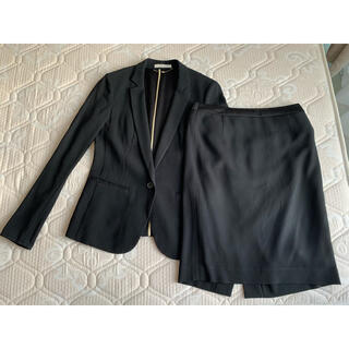 theory - ベイジ.  beige.  ブラック セットアップ スカートスーツ