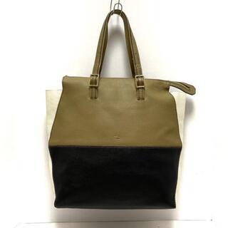 フルラ(Furla)のフルラ ハンドバッグ ドリ カーキ×黒×白(ハンドバッグ)