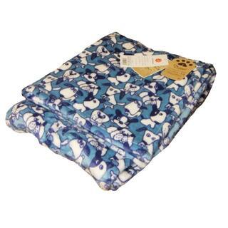 ニシカワ(西川)の新品 西川 ニューマイヤー毛布 アニマル イヌ ドッグ シングル 可愛い タグ付(毛布)