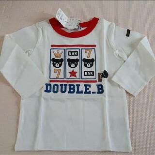 ダブルビー(DOUBLE.B)のダブルビー☆ロンT☆新品未使用☆100(Tシャツ/カットソー)