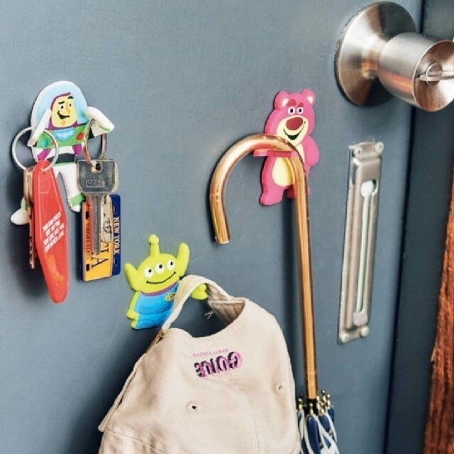 トイ・ストーリー(トイストーリー)の未開封 トイストーリー マグネットフック 3点セット mini付録 エンタメ/ホビーのおもちゃ/ぬいぐるみ(キャラクターグッズ)の商品写真