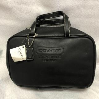 COACH - coach コーチ 化粧ポーチ タグ付き未使用 アメリカで購入 形崩れあり