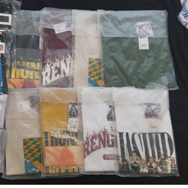 UNIQLO(ユニクロ)のhachi8様専用 鬼滅の刃 グッツ Tシャツ 新品未使用 レア メンズのトップス(Tシャツ/カットソー(半袖/袖なし))の商品写真