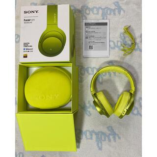 ソニー(SONY)のSONYヘッドホンh.ear on(MDR-100ABN)(ヘッドフォン/イヤフォン)