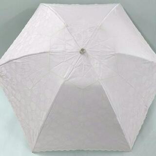 サンローラン(Saint Laurent)のイヴサンローラン 折りたたみ傘 ピンク(傘)