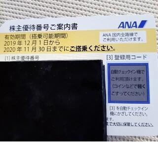 エーエヌエー(ゼンニッポンクウユ)(ANA(全日本空輸))のANAの株主優待券(航空券)