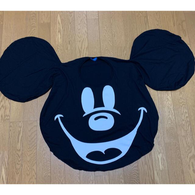 Disney(ディズニー)の【美品】ミッキーTシャツ ミッキー型Tシャツ レディースのトップス(Tシャツ(半袖/袖なし))の商品写真