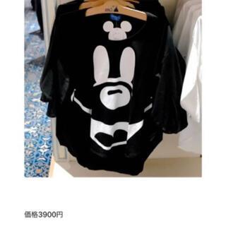 Disney - 【美品】ミッキーTシャツ ミッキー型Tシャツ
