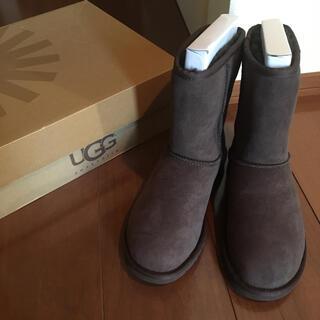 UGG - 新品 UGG アグ ショートブーツ ブーツ レディース ムートン 新品 未使用