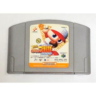 ニンテンドウ64(NINTENDO 64)のN64 実況パワフルプロ野球2000(家庭用ゲームソフト)