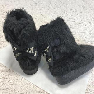 ロニィ(RONI)のRONI ブーツ♡ ブラック 24 (ブーツ)