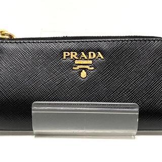 プラダ(PRADA)のプラダ コインケース - 1PP026 黒 レザー(コインケース)
