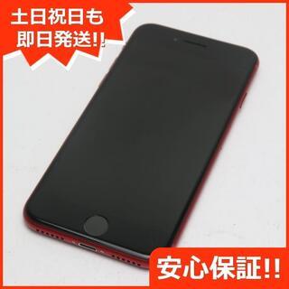 アイフォーン(iPhone)の美品 DoCoMo iPhone8 256GB レッド 白ロム(スマートフォン本体)