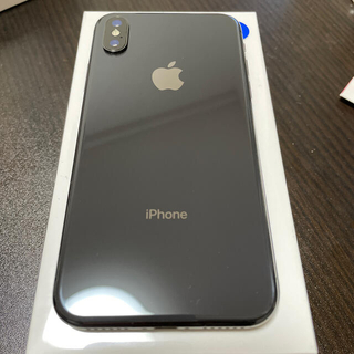 Apple - 【SIMフリー】 iphone X 64GB スペースグレイ