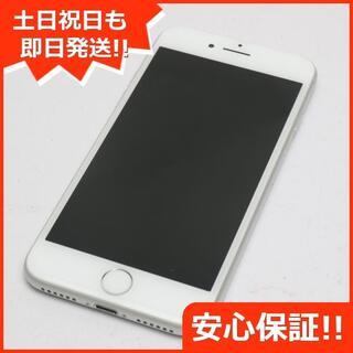 アイフォーン(iPhone)の美品 DoCoMo iPhone8 256GB シルバー (スマートフォン本体)