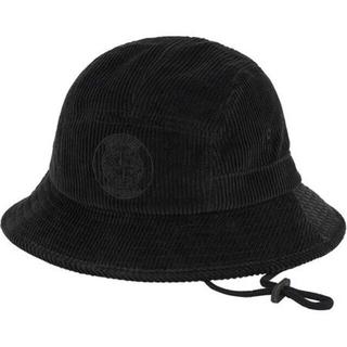 シュプリーム(Supreme)のSupreme Stone Island Crusher Hat ハット 黒(ハット)