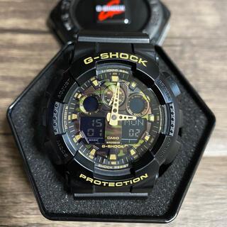 G-SHOCK - G-SHOCK 電池新品 GA-100CF カモフラ ミリタリー カシオ 腕時計