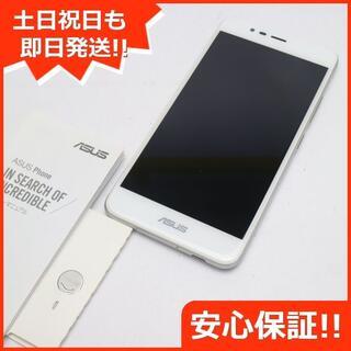 エイスース(ASUS)の新品同様 SIMフリー zenfone 3 Max ZC520TL シルバー (スマートフォン本体)