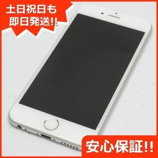 アイフォーン(iPhone)の美品 DoCoMo iPhone6S 64GB シルバー 白ロム(スマートフォン本体)
